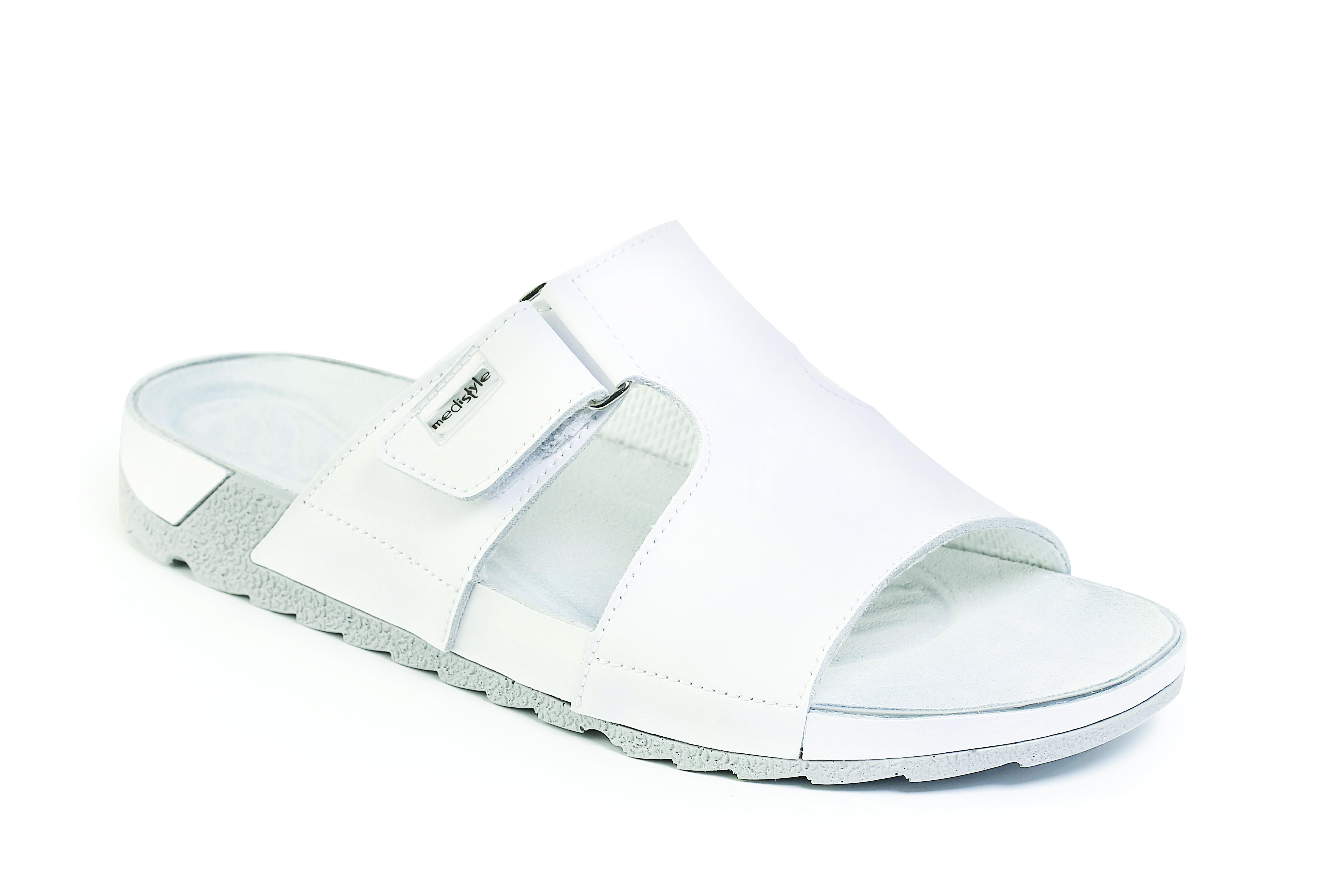 fc555fc622a0 Pantofle GABRIEL zdravotní obuv pánská bílá 5G-J11 Medistyle ...