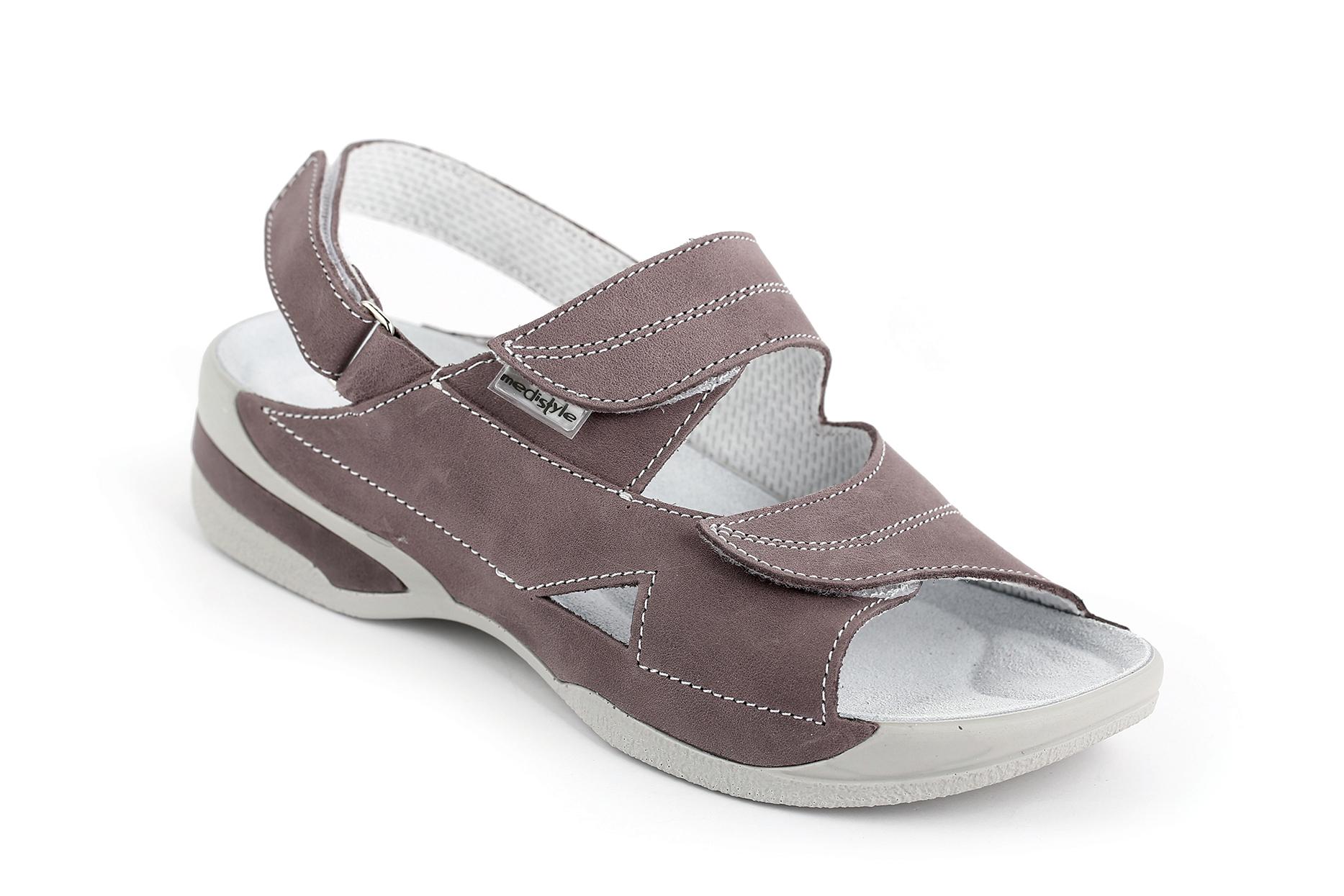 0ef11a4314d6 Sandále LUCY zdravotní obuv dámská šedofialová 5L-E2LA Medistyle