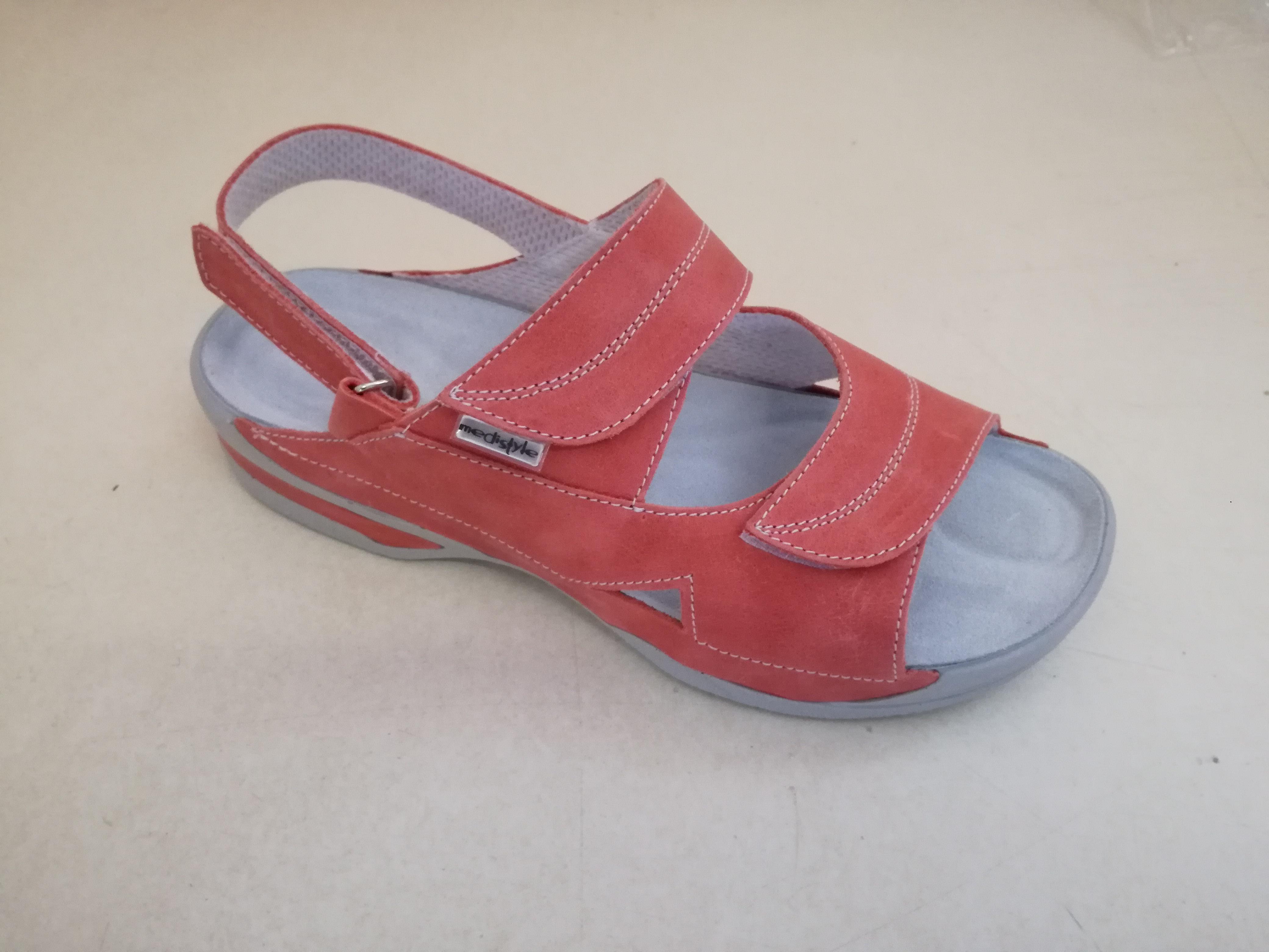 e17f87b1e648 Sandále LUCY zdravotní obuv dámská oranžová 5L-E28 Medistyle