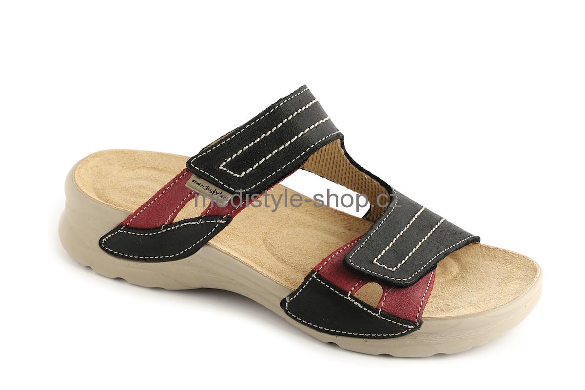 4ddafdcf0d62 Pantofle NINA zdravotní obuv dámská černá LN-T16 5 Medistyle