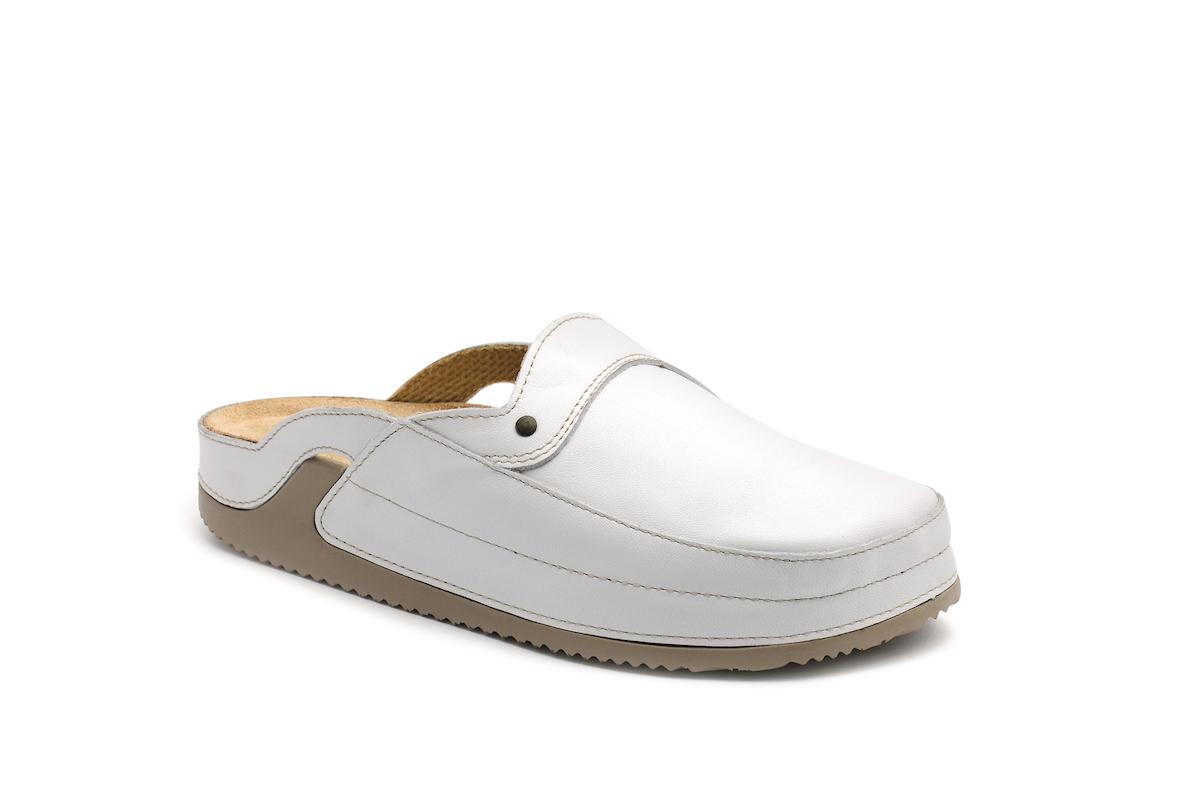 af6134c30689 Pantofle SANDY zdravotní obuv dámská bílá 5S-J11 Medistyle (plná špice)