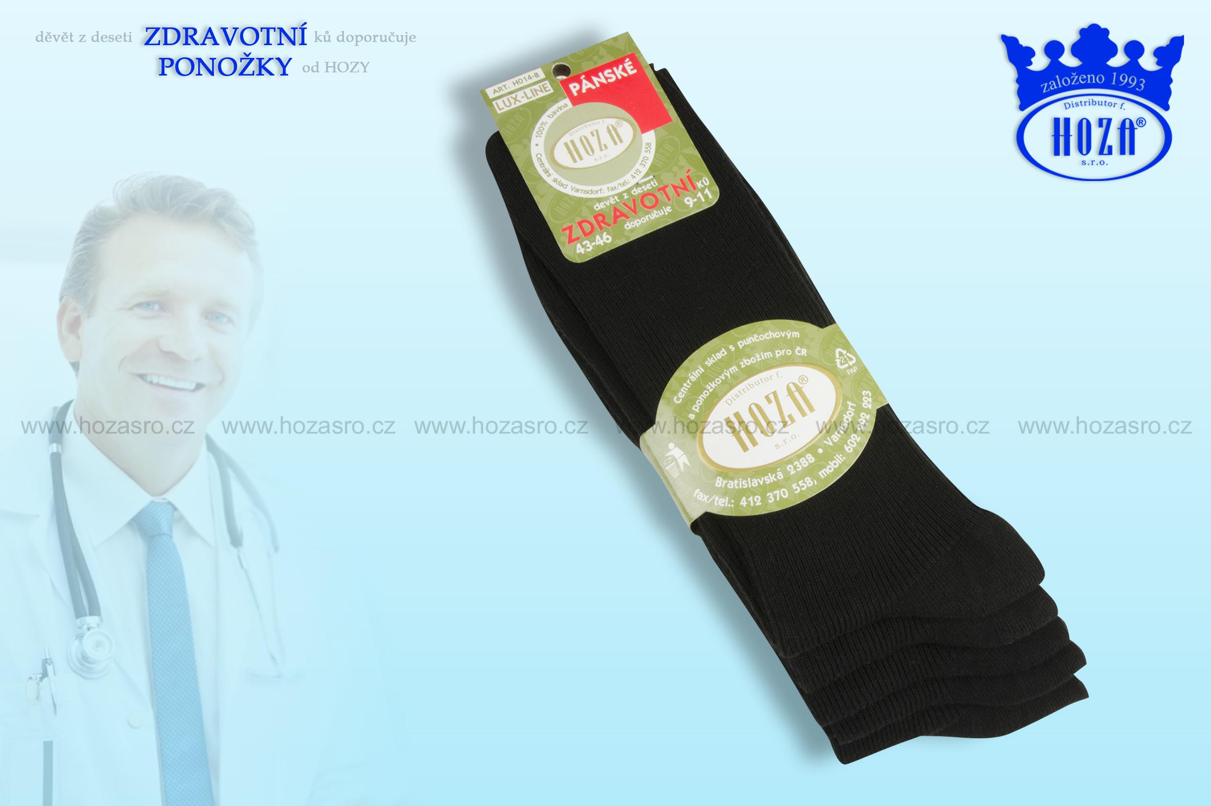 Pánské ponožky zdravotní b0239d1490