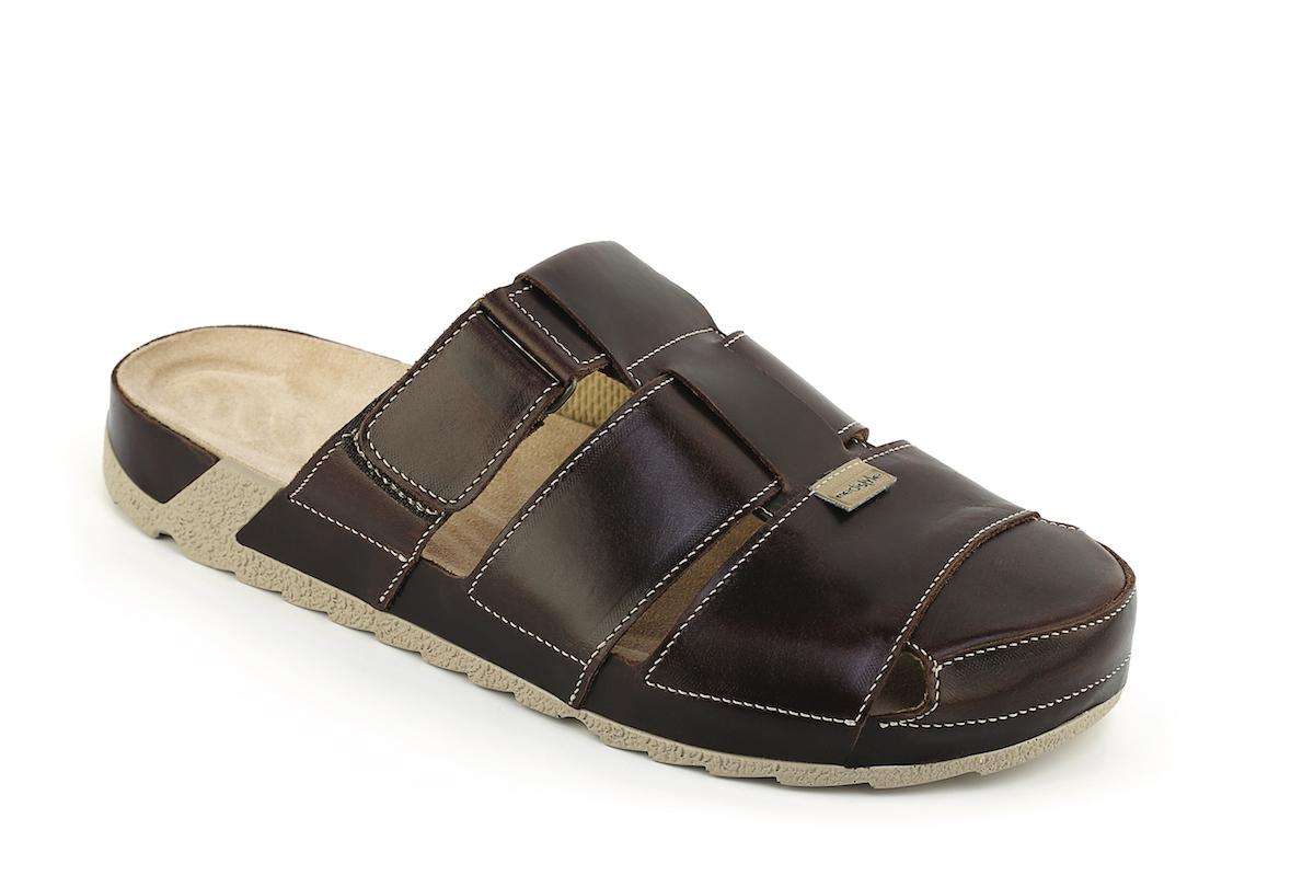 0ad106cf85b2 Pantofle MAREK zdravotní obuv pánská hnědá 7M-J14 Medistyle ...