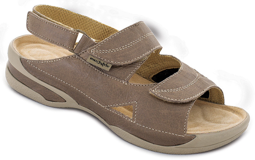 7584c7d3f3c6 Sandále LUCY halux zdravotní obuv dámská hnědá 5L-E24 H (pro vybočené palce)