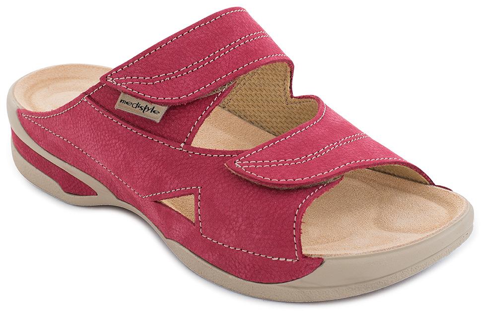 ffe0c774fdcb Pantofle LUCY zdravotní obuv dámská červená 5L-E15 Medistyle