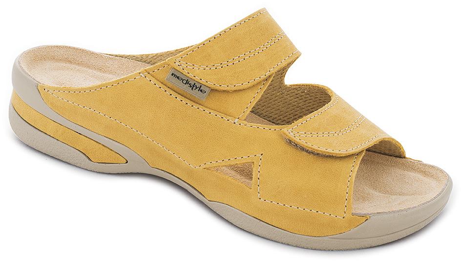 53f6206907f5 Pantofle LUCY zdravotní obuv dámská žlutá 5L-E13 Medistyle